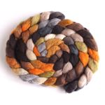 Wood and Concrete on BFL Wool
