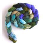 Sprinkled with Violets on Merino Wool