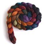 African Sunset - Polwarth/Silk Roving-3