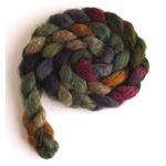 Old Stone House on Mixed BFL/Silk Roving