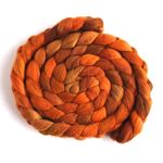 Orange Shades on Merino Wool