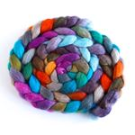 Wheel of Fortune - BFL Wool Spining Roving-1