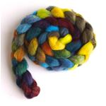Firefly Lights on BFL Wool Roving