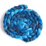 Riveting Blue on BFL/Silk Roving1