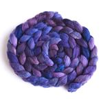 Violet Rivet on Polwarth/Silk Roving