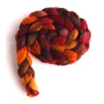 Maple Leaf Rag on Mixed BFL Wool