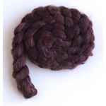 Blended Chocolate on Polwarth/Silk 60/40 Roving3