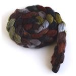 Corduroys with Boots on Polwarth/Silk Roving