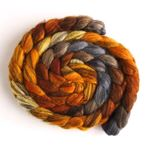 Fire Pit - Mixed BFL Wool Roving-1