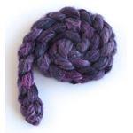 Violet Shadows - Polwarth/Silk 60/40 Roving-3