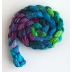 Cool Storm - Polwarth/Silk 60/40 Roving-3