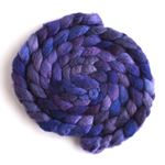 Violet Rivet on BFL/Silk Roving1