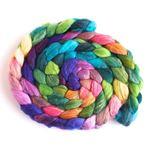 Springtide - Merino/ Silk Roving-1
