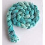 Sea Glass Tonal - Polwarth/Silk 60/40 Roving-3