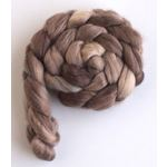Goose Brown on Corriedale Wool Roving-3