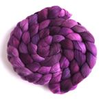 Violet Island on Rambouillet Wool Roving