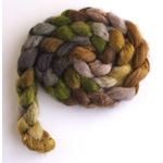 Lichen on Mixed BFL/Silk Roving