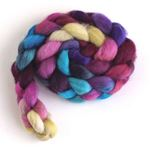 Snazzy on Falkland Wool Roving