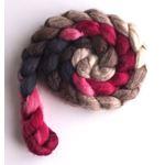 Red Velvet on Polwarth/Silk 60/40