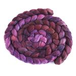 Eggplant on Polwarth/Silk