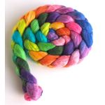 Capture the Flag on Polwarth/Silk Roving