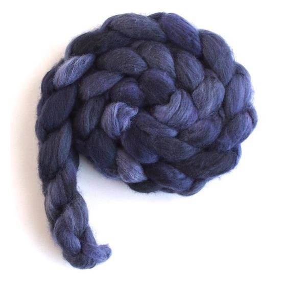 Velvet Night - Merino Wool Roving-3
