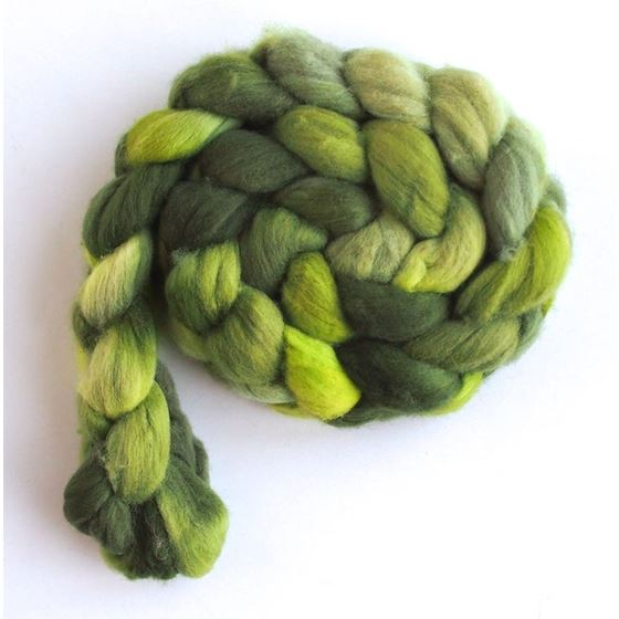 Tender Greens on Rambouillet Wool