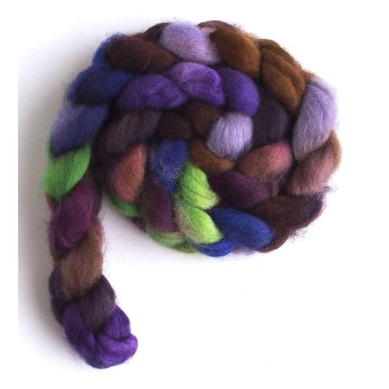 Night Charm - Falkland Wool Roving