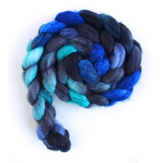 Merino/ Superwash Merino/ Silk Roving (Top) - Ha-3