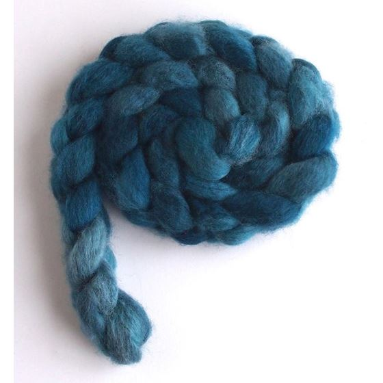 Unsettled Sky on BFL Wool Roving