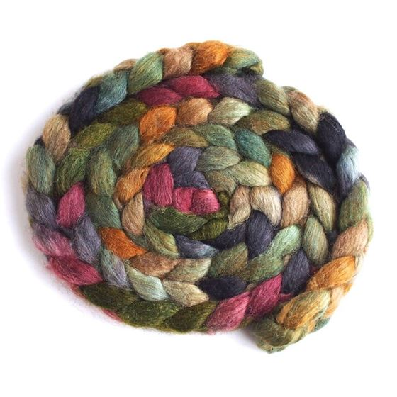 Old Stone House on Mixed BFL/Silk 1