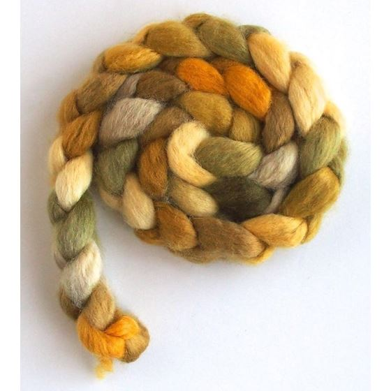 Shaft of Light on BFL Wool