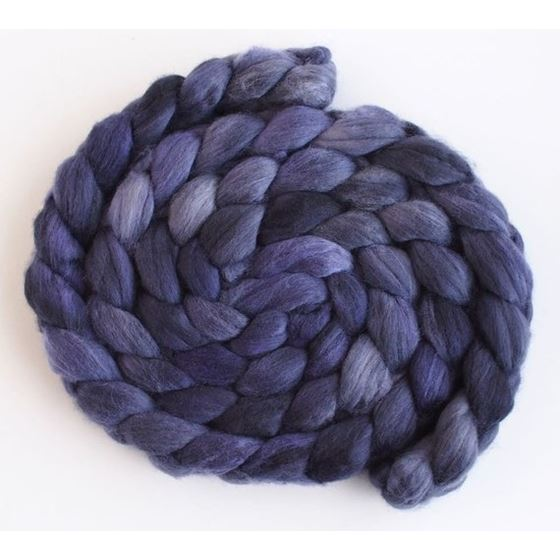 Velvet Night - Merino Wool Roving-1