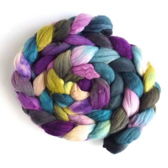 Memory Lane - Targhee Superwaswh Wool Roving-1