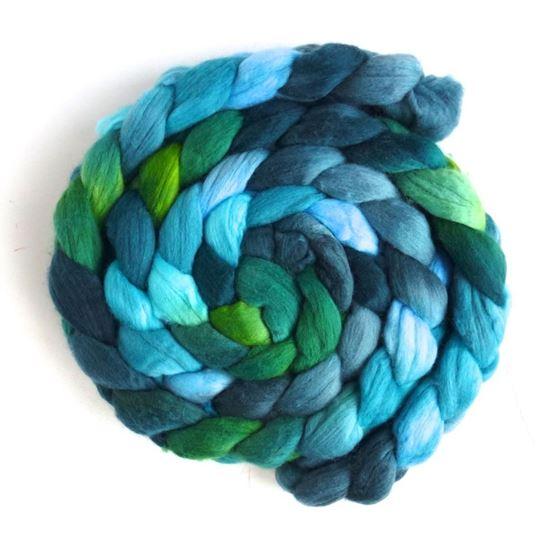 Merino Wool Roving Superfine - Hand Dyed Spinning