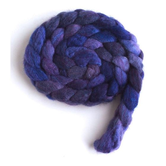 Violet Rivet on BFL/Silk Roving3