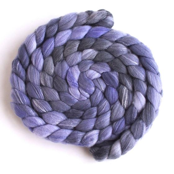 Lavender on Targhee/Bamboo/Silk1