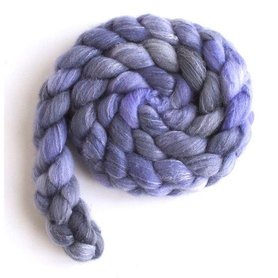 Lavender on Targhee/Bamboo/Silk3