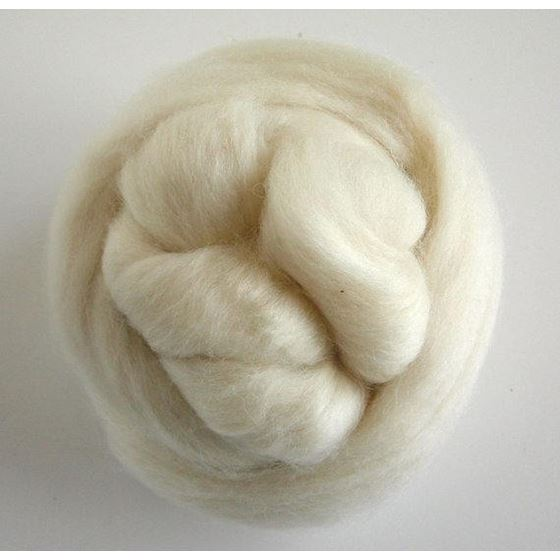 Blueface Leicester Ecru Roving Spinning or Felti-3
