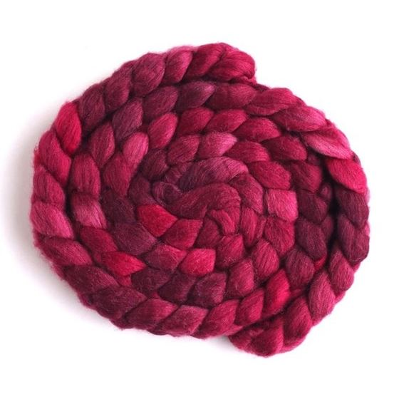Dark Sweet Cherries, Merino/ SW Merino/ Silk-1