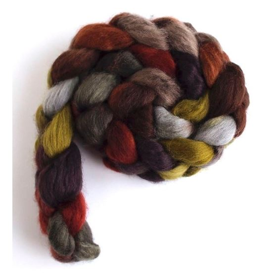 Corduroys with Bootsrs on Corriedale Wool Roving-3