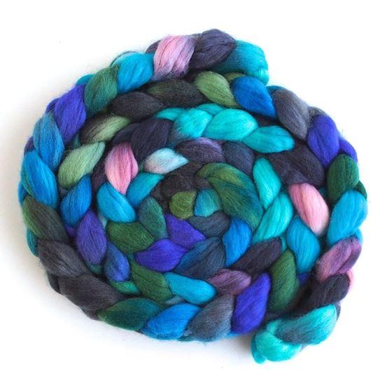 Petals in the Rain - Finn Wool Roving-1