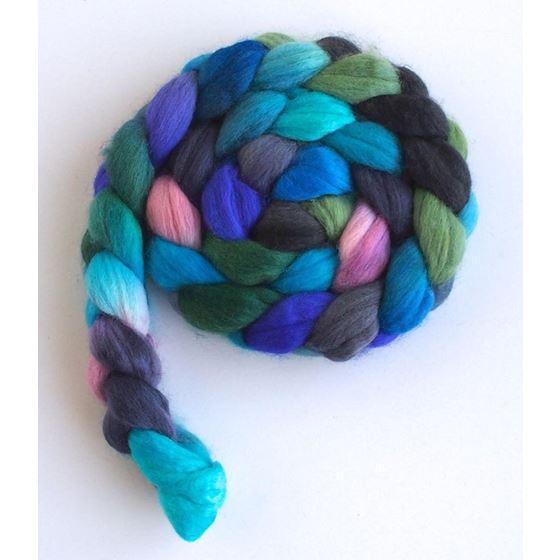 Petals in the Rain - Finn Wool Roving-3