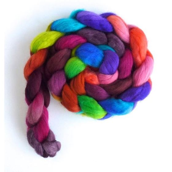 Piske Bagwash - Rambouillet Wool Roving-3