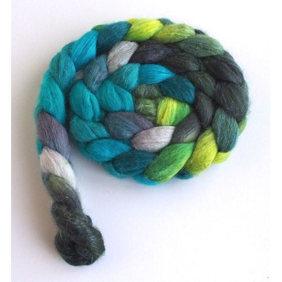 Lakeside Forest Variation 2 on Polwarth/Silk