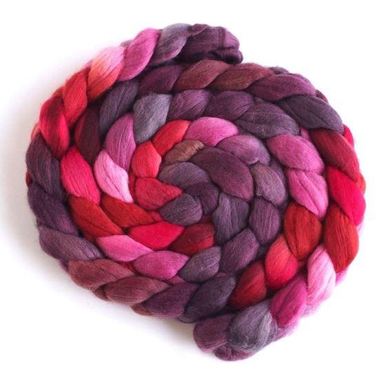 Hot Shot on Superfine Merino Wool