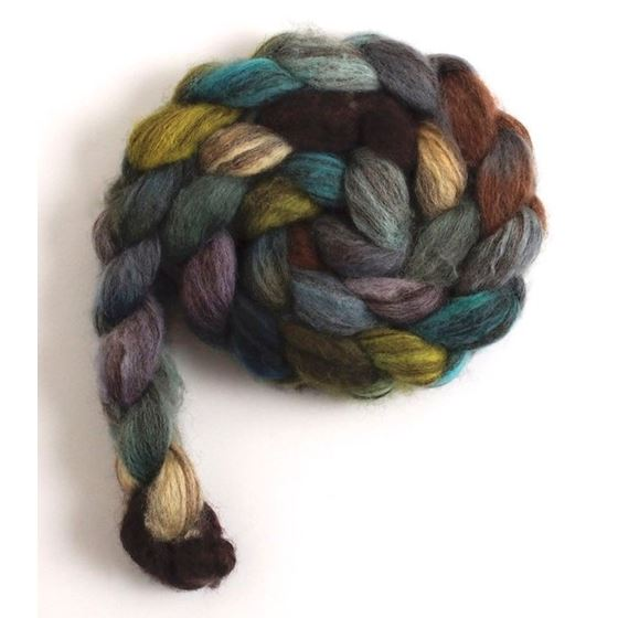 Overcast - Mixed BFL Wool Roving-3