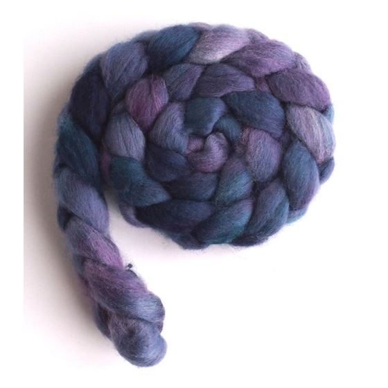 Blueberry Liqueur on Falkland Wool 3