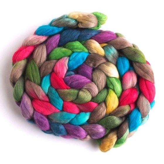 Spring Byway - Finn Wool Roving