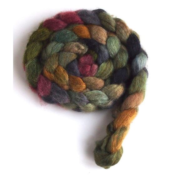 Old Stone House on Mixed BFL/Silk 3